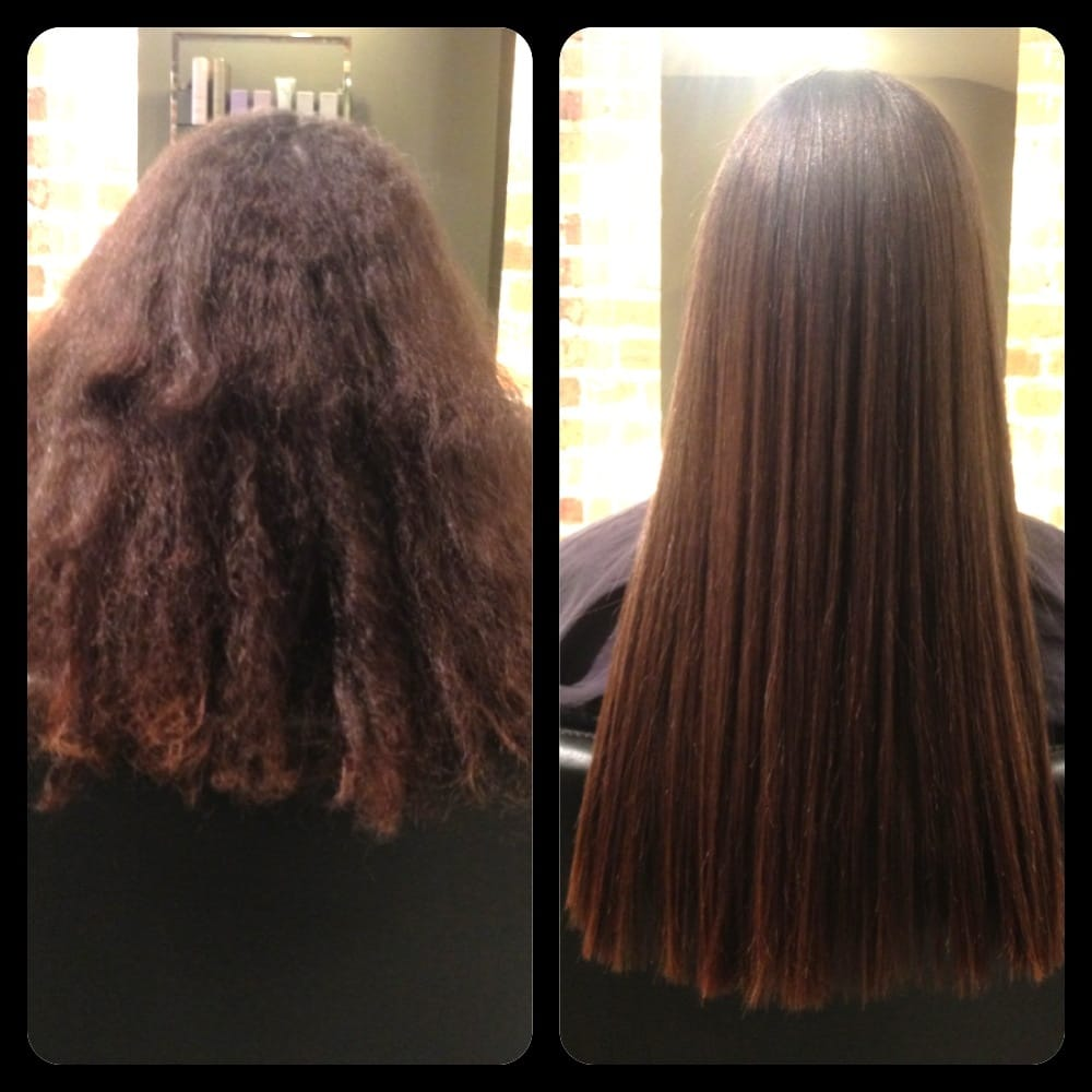 Before After Thermal Reconditioning Perform By Lauren