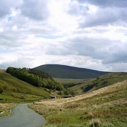 Trough of Bowland, Preston, Lancashire