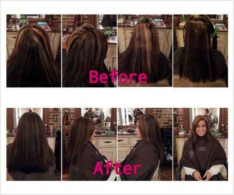 Before And After Color Correction Hair Done By Nikki  Yelp