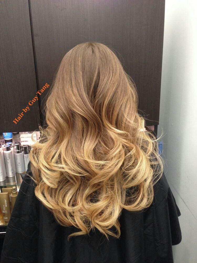 graduated balayage ombre by guy tang yelp. Black Bedroom Furniture Sets. Home Design Ideas