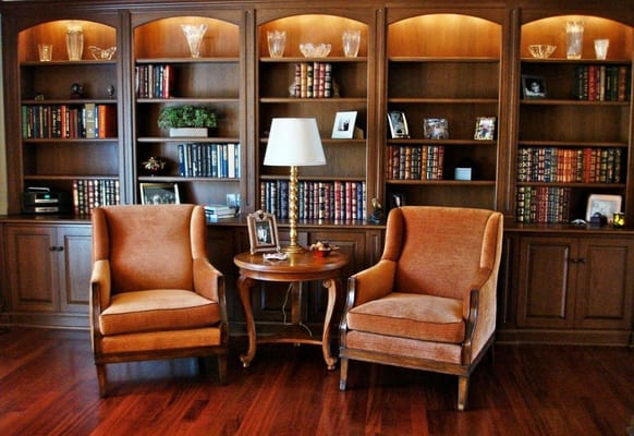 Traditional study interior design yelp for Study interior design
