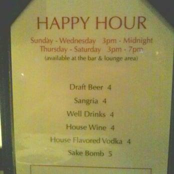 Wokcano Long Beach Ca Happy Hour