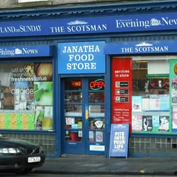 Janatha Food Stores, Edinburgh