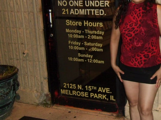 Melrose park adult bookstore