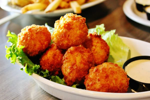 Fried mac and cheese bites near our Pigeon Forge hotel