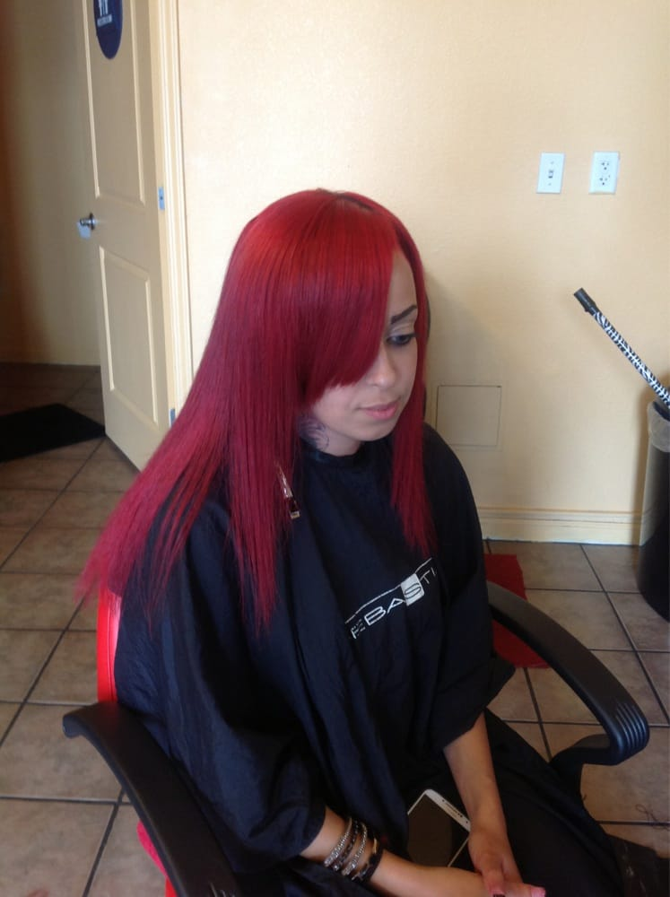Full sew in with BRAZILIAN straight Hair | Yelp - photo#47