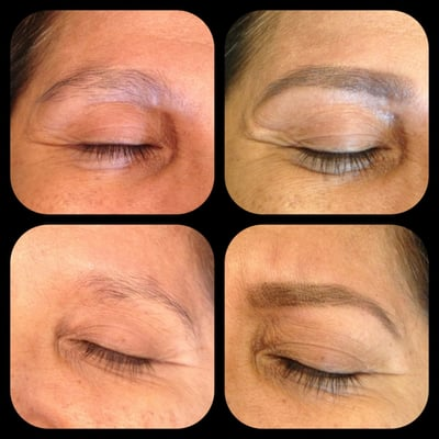 before and after brpw waxing | Yelp