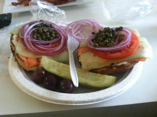 Bagels and lox dating site