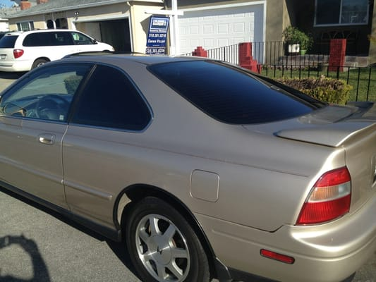 Honda Accord Tinted Windows Yelp