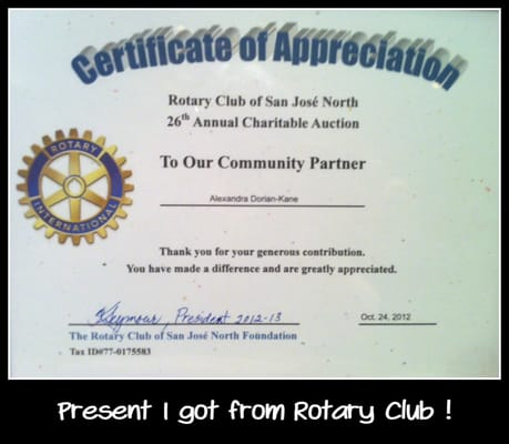 rotary certificate of appreciation template - certificate of appreciation from the rotary something we