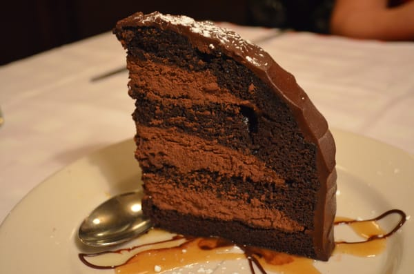 Chocolate Zuccotto Cake From Maggiano