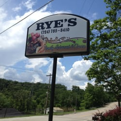 Ryes Restaurant Brownsville Pa