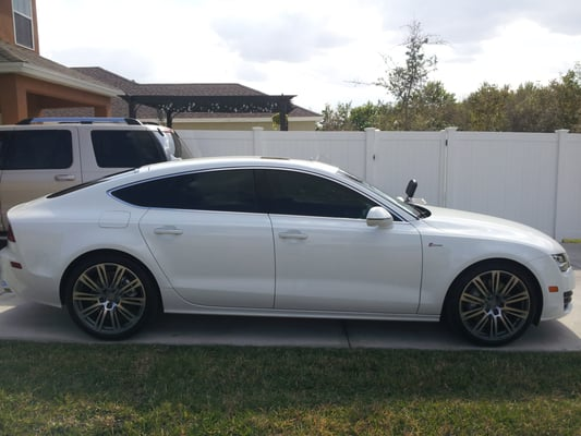This Is A Audi A 7 That We Installed Ceramic Tint At