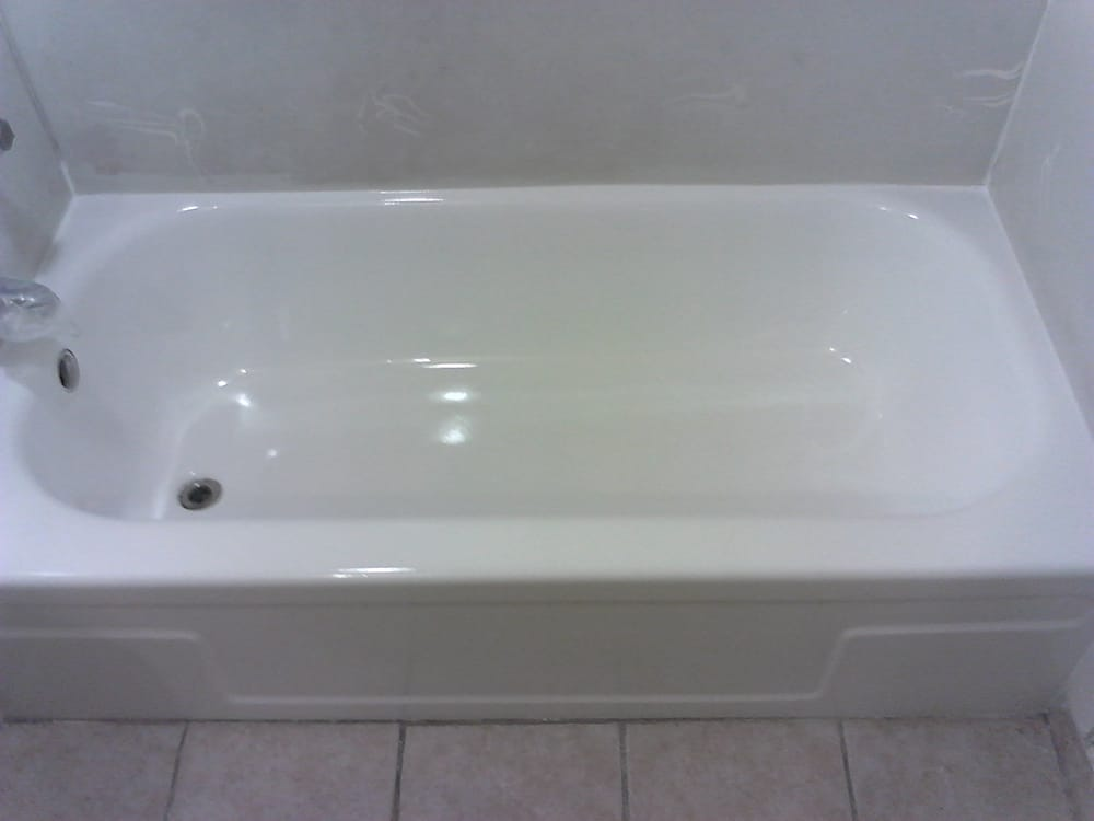 Porcelain Tub After Refinishing Yelp
