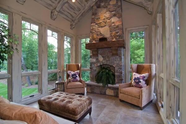 Four Season Porch With Heated Floors Yelp