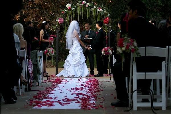 Our ceremony rancho santa ana botanic garden container - Rancho santa ana botanic garden wedding ...