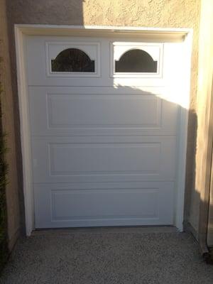 New Golf Cart Garage Door Installed January 2013 Yelp
