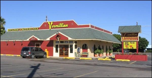 Vermillion Restaurant Menu Brownsville Tx