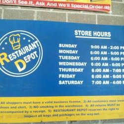 Restaurant Depot Maspeth Ny Hours