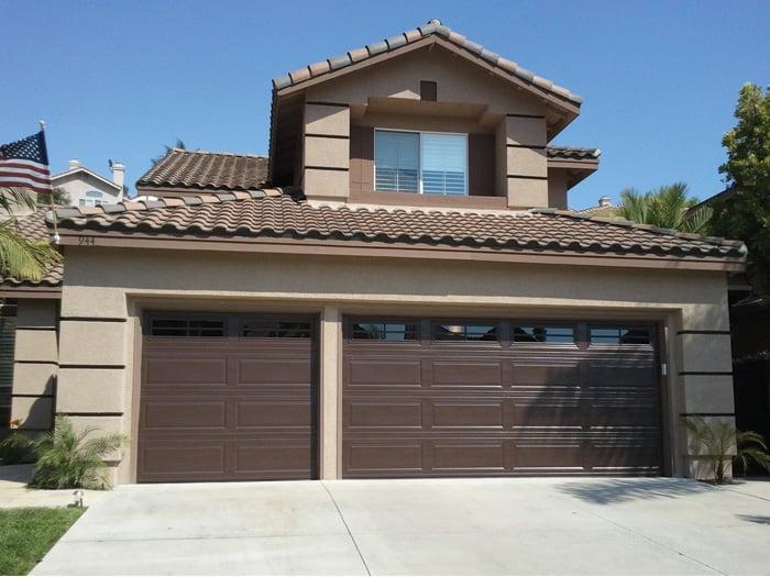 Garage Doors And Windows Sectional Garage Doors 8x7 And