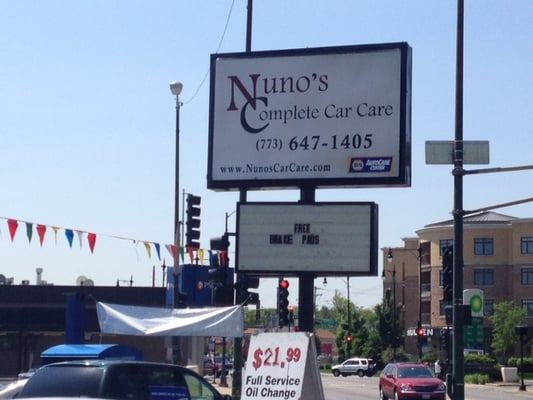 Nuno's Complete Car Care - Auto Repair - Norwood Park ...