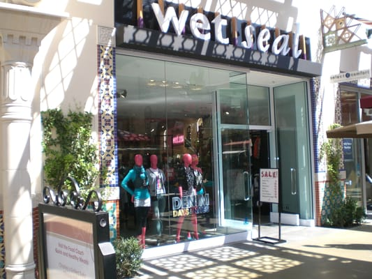 Wet Seal Store Front At The Irvine Spectrum Yelp