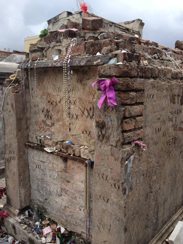First supposed Marie Laveau grave. | Yelp