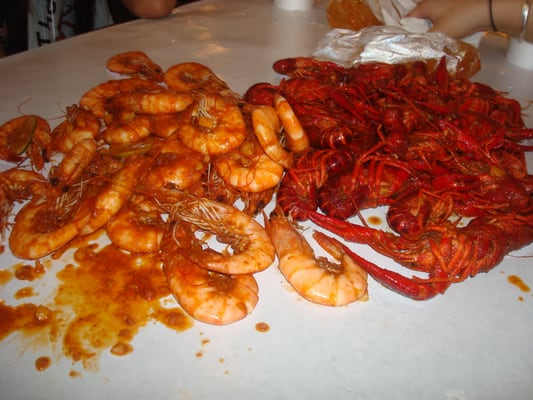 Difference between: shrimp and crayfish