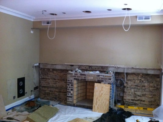 Pre Wire For A 5 1 Surround Sound System Utilizing Episode