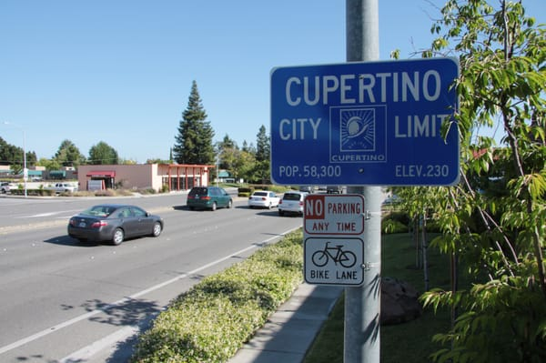 Cupertino City Limit Sign Yelp
