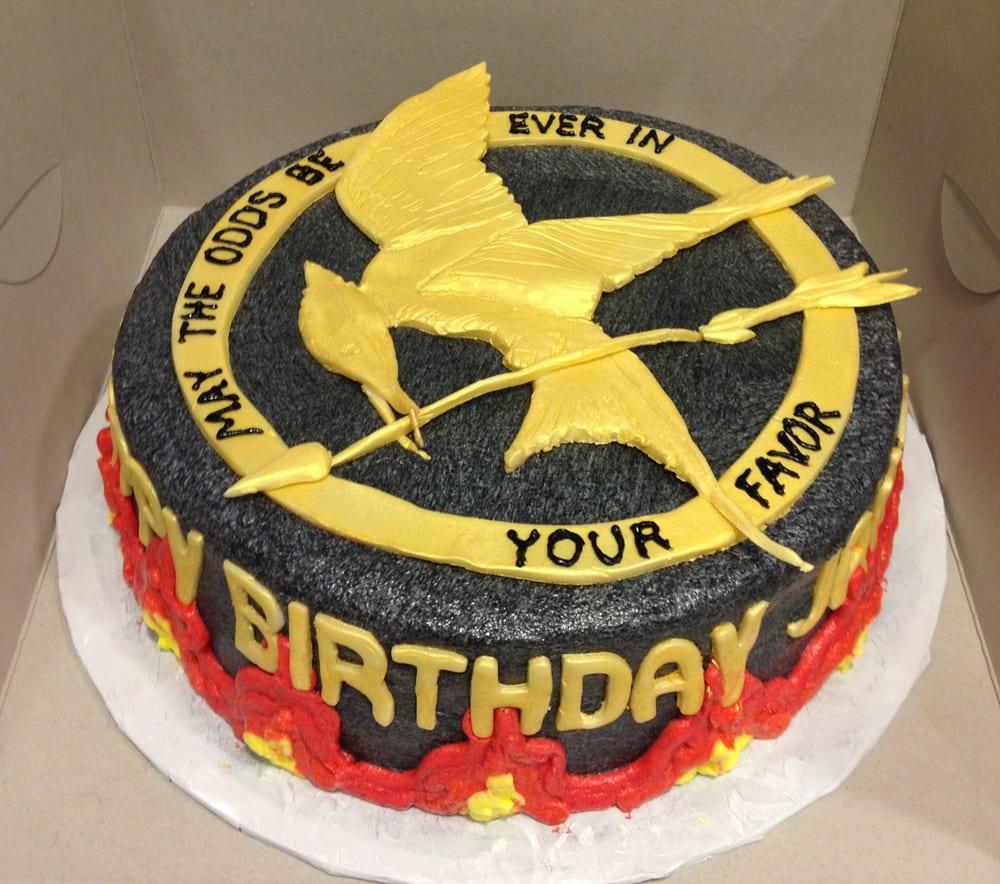 The Hunger Games Birthday Cake Yelp