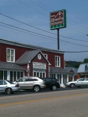 Rowe S Family Restaurant Staunton Va