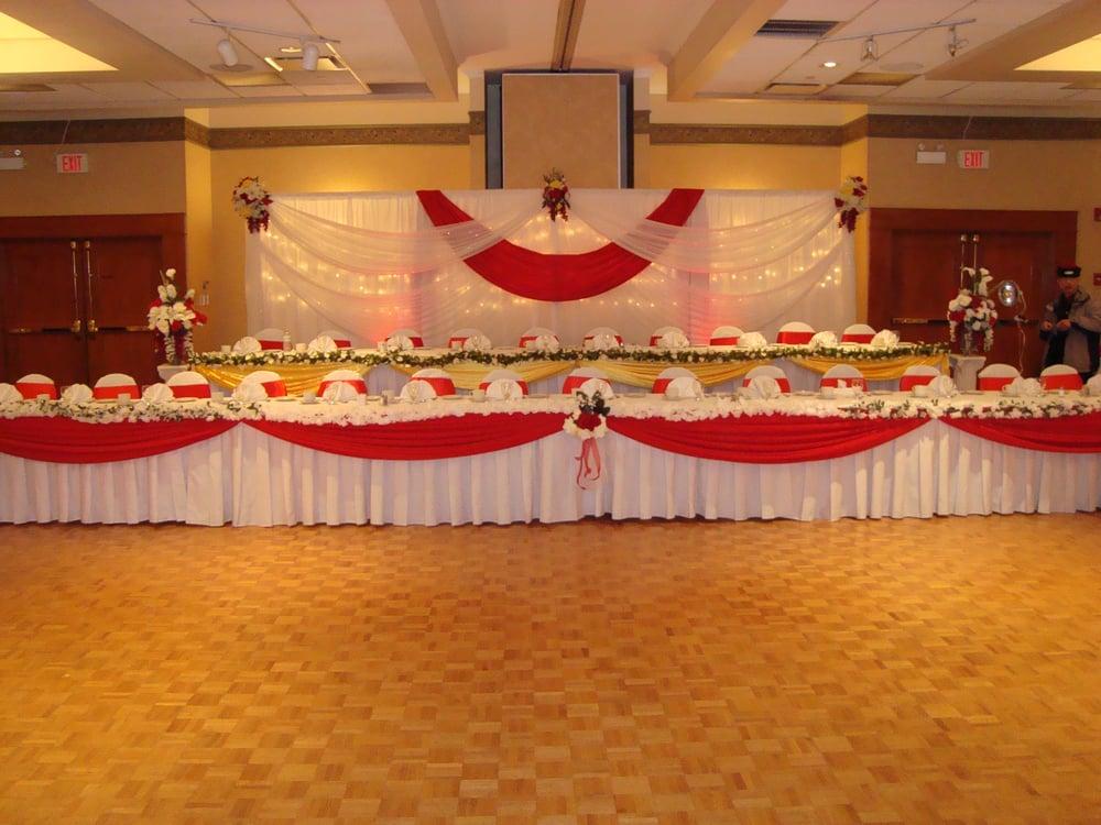 Wedding Hall Decoration Wedding Reception Backdrop Head