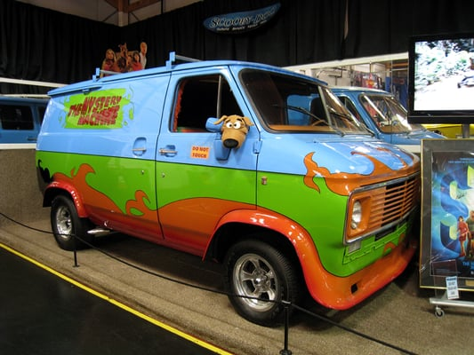 mystery machine van from scooby doo yelp. Black Bedroom Furniture Sets. Home Design Ideas