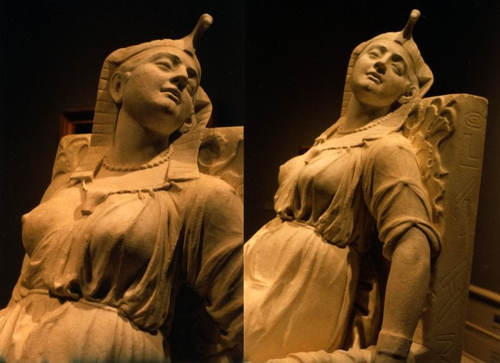 The Curse Of King Tuts Tomb Torrent: Edmonia Lewis; The Death Of Cleopatra; Carved 1876; Marble