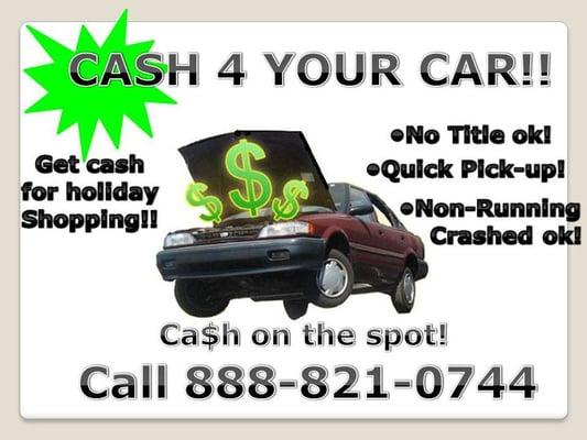 Cash For Junk Cars - Lents - Portland, OR