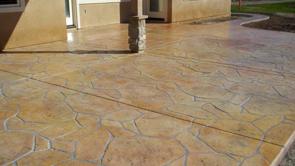 Vista Natural Arizona Flagstone Stamp Concrete Yelp