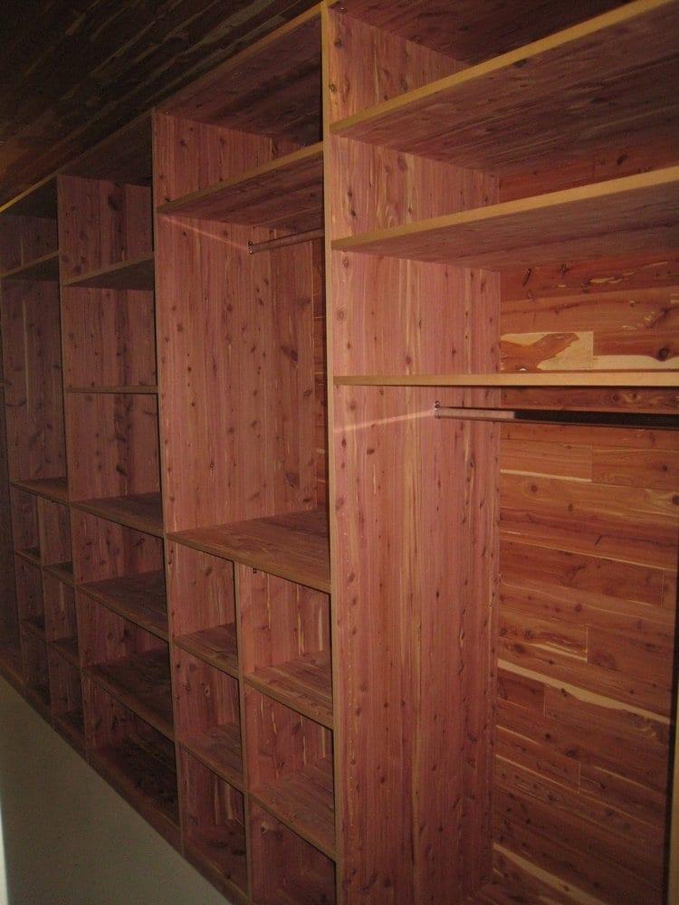 Cedar Closets 3 Nails 4 U Construction: Custom Cedar Closet