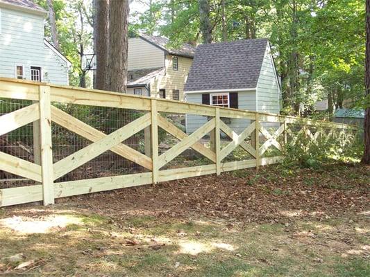 Wood Fence 4 High Cross Buck Fence Yelp