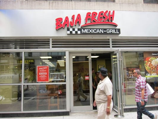 USA-based fast-casual Mexican themed restaurant chain Baja Fresh Mexican Grill has opened its second New York City location. The new restaurant, which offers both a dine-in and takeaway option, is owned and operated by franchise owner Neil Seth and is .