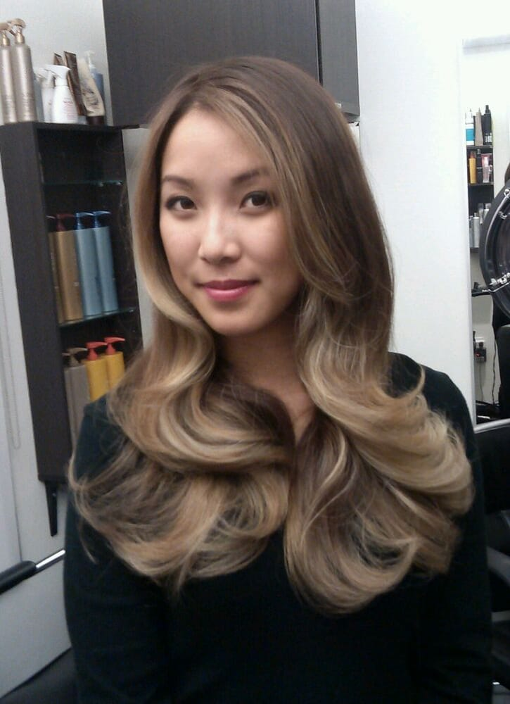 это делается, фото изменения цвета волос у азиаток меня