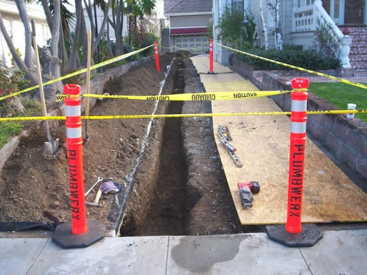 Residential Underground Main Sewer Line Replacement Yelp